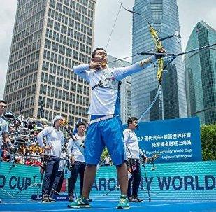 Казахстан завоевал золото этапа Кубка мира по стрельбе из лука