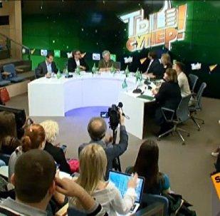 LIVE: НТВ арнасындағы Ты супер! балалар вокалдық конкурсының баспасөз мәслихаты