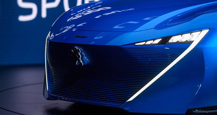 Peugeot Instinct concept car