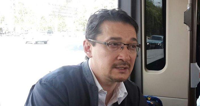 Руководитель управления пассажирского транспорта Астаны Бекмырза Игенбердинов