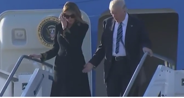 Меланья Трамп күйеуін ыңғайсыз жағдайда қалдырды