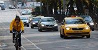 Архивное фото автомобиля такси