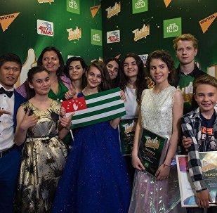 Участники Ты супер! получили подарки от Sputnik