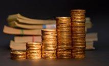 Стопки монет, архивное фото
