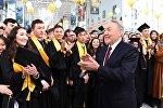 Участие Нурсултана Назарбаева в церемонии вручения дипломов выпускникам Назарбаев Университета