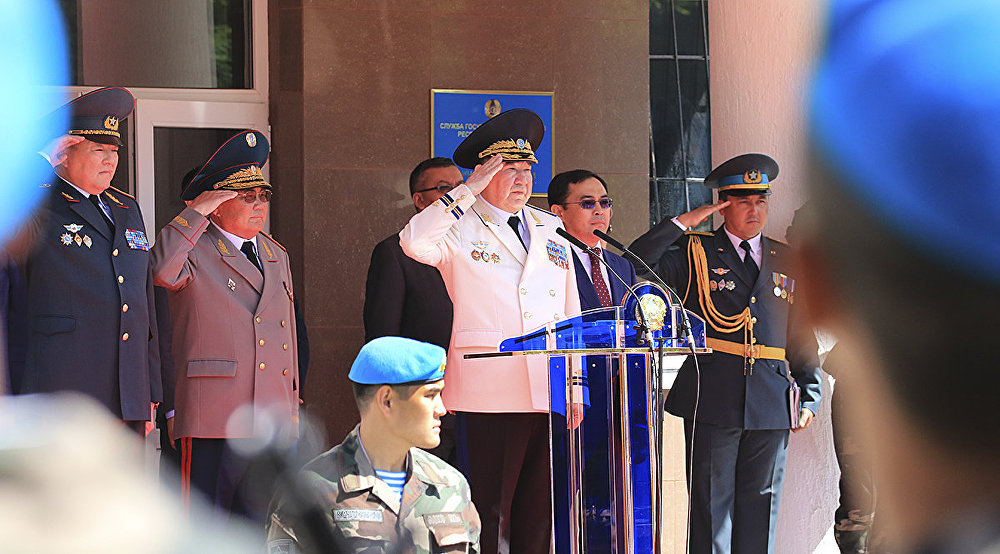 Новобранцы Службы государственной охраны приняли Военную присягу