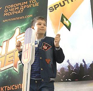 Фотозона Sputnik вызвала ажиотаж в Кремлевском Дворце