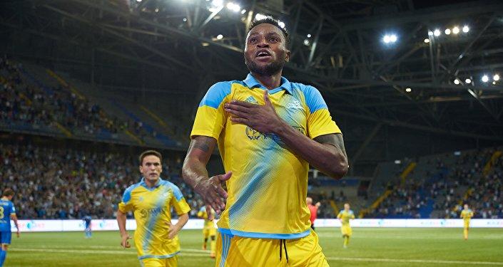 Игрок ФК Астана Джуниор Кабананга