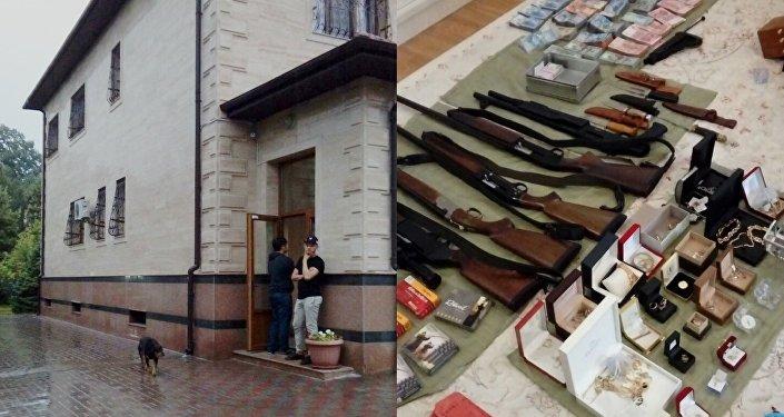 Жилье и оружие членов ОПГ в Алматы