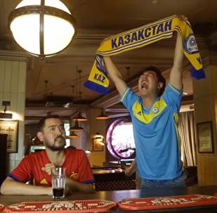 Казахстанцев призывают болеть за отечественных футболистов