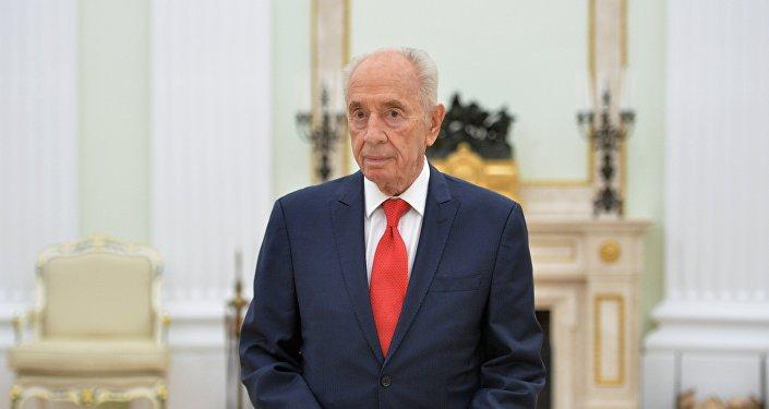 Архивное фото бывшего президента Израиля Шимона Переса
