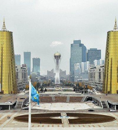 Виды Астаны - столицы Казахстана