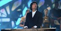 Музыкант группы А-Студио Байгали Серкебаев