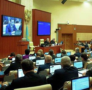 Архивное фото заседания мажилиса парламента РК