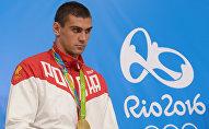 Архивное фото российского боксера, олимпийского чемпиона Евгения Тищенко