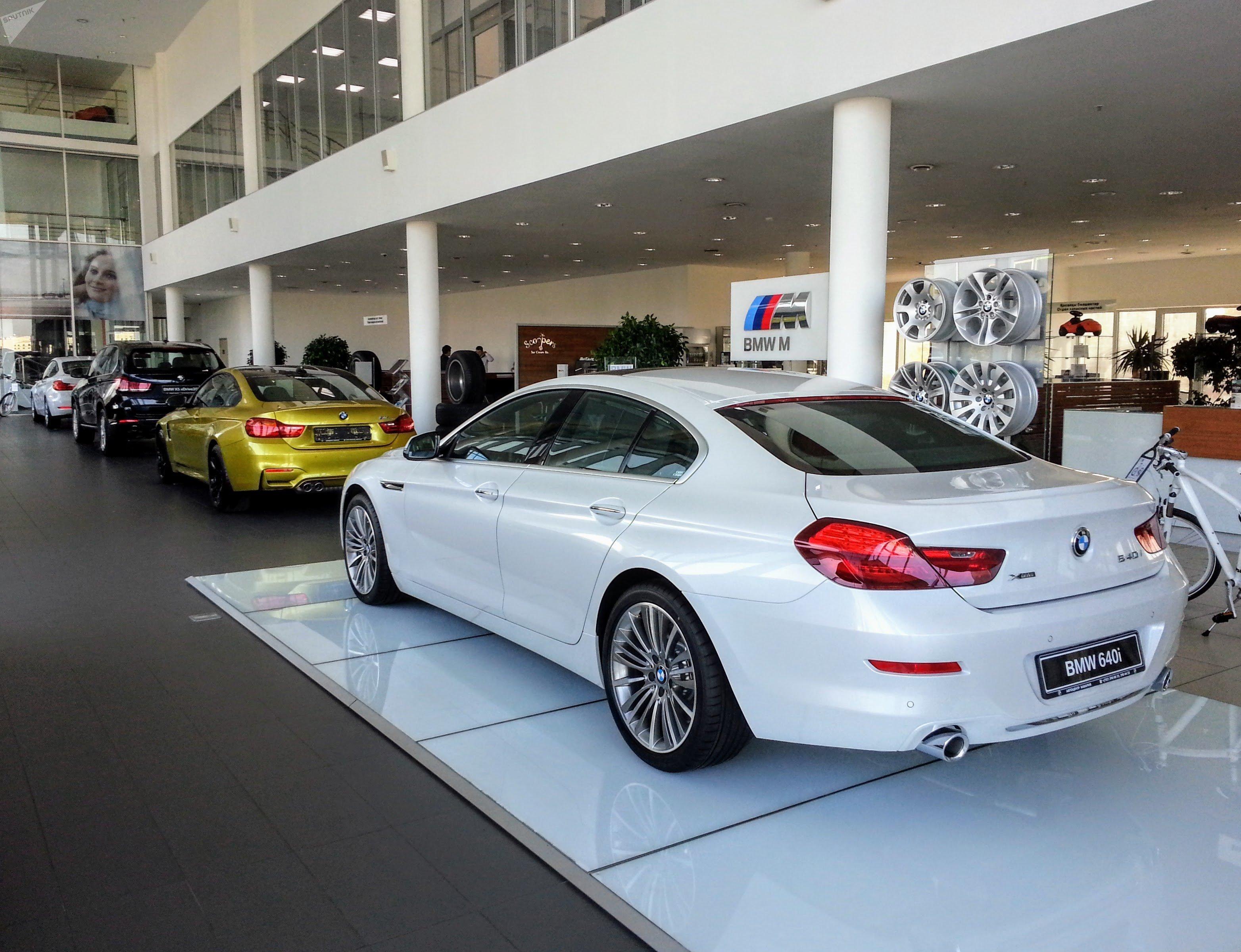 BMW 6 серии 2017 года