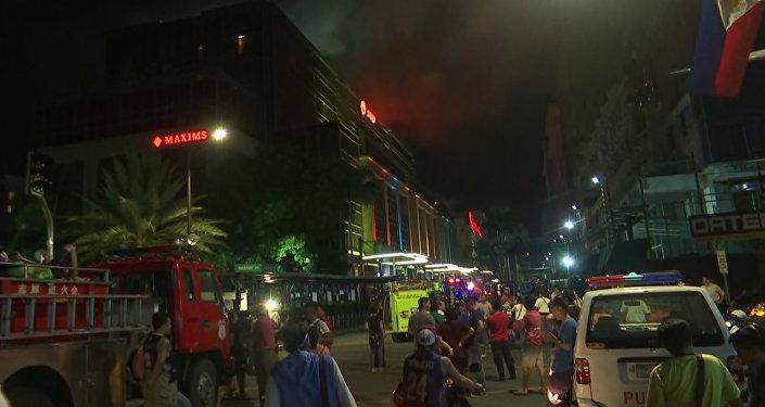 Вооруженное нападение на казино в Маниле