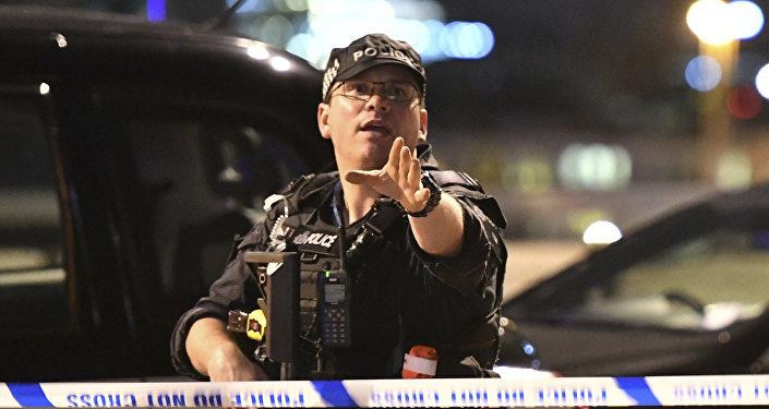 Полицейский в Лондоне