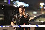Полицейский в Лондоне, архивное фото
