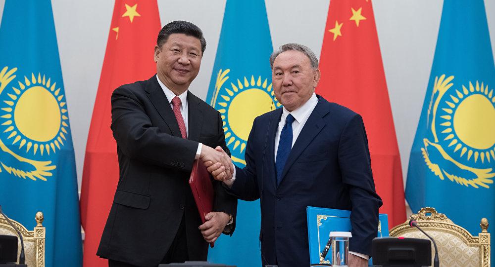 Си Цзиньпин поздравил Назарбаева