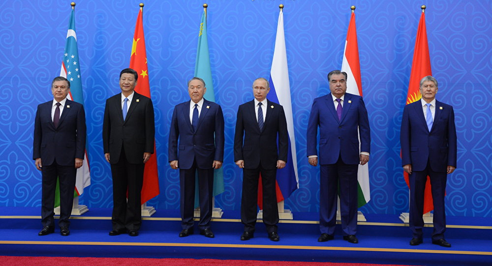 Президенты государств-членов ШОС