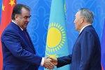 Эмомали Рахмон мен Нұрсұлтан Назарбаев, архивтегі фото