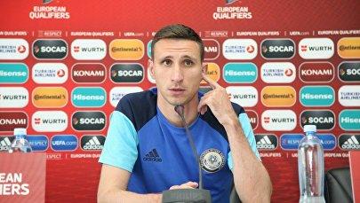 Защитник сборной Казахстана и столичной Астаны Дмитрий Шомко