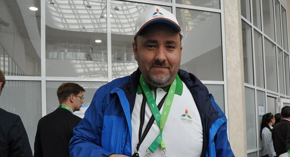 Чешский журналист Роман Яноух
