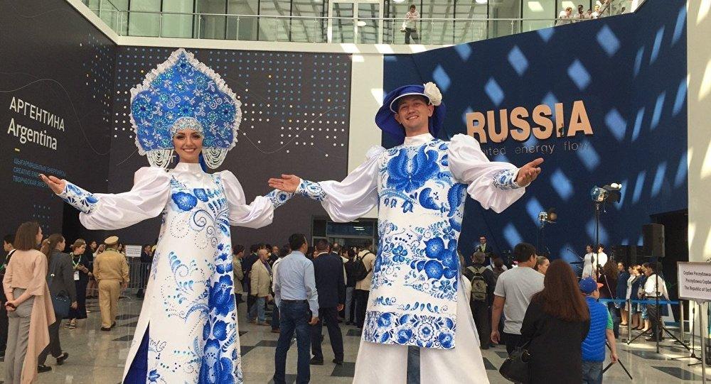 Русский  арктический павильон открылся наЭКСПО