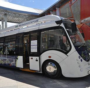 Беларусь елі ұсынған электробус