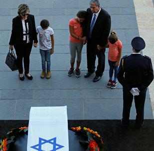 Прощание с экс-президентом Израиля в Иерусалиме