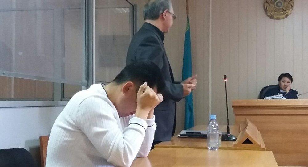 Юрий Пак во время судебного заседания. Архивное фото