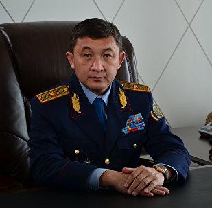 Начальник департамента внутренних дел Алматинской области, генерал-майор Мурат Урумханов
