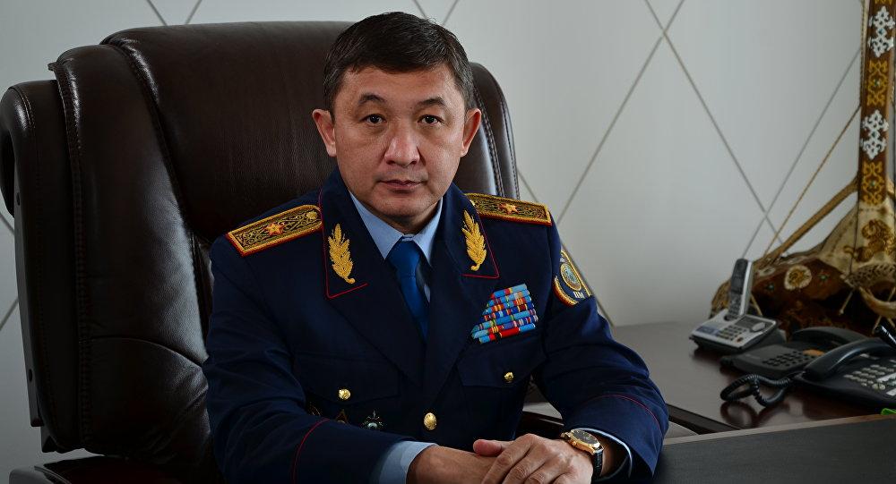 Алматы облысы ІІД басшысы генерал-майор Мұрат Үрімханов