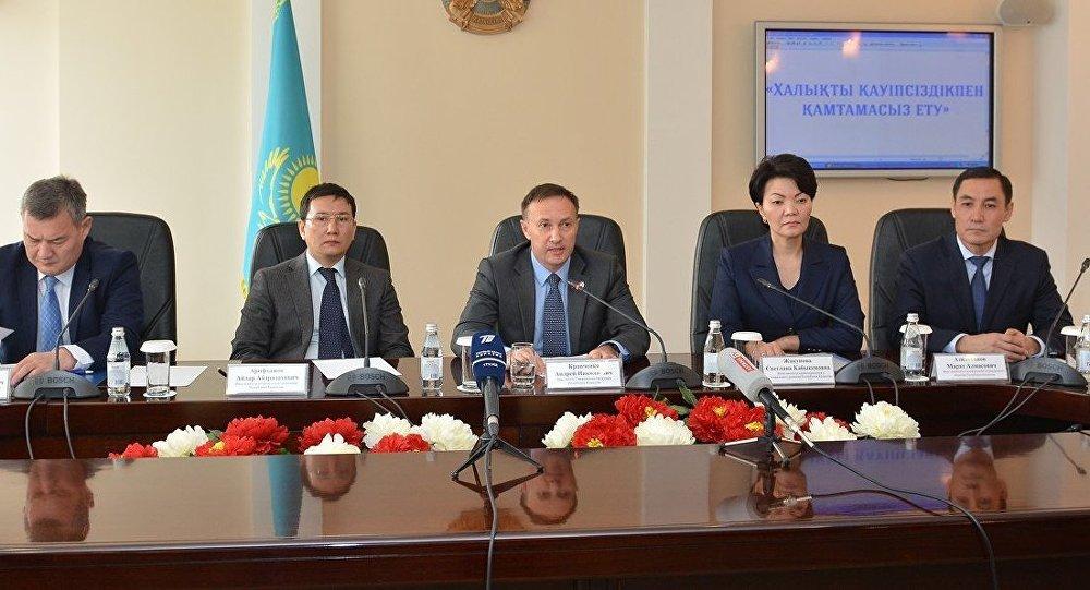 Қазақстан бас прокурорының орынбасары Андрей Кравченко