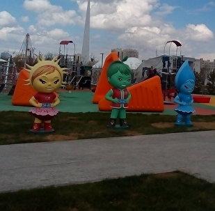 EXPO kids на территории Международной выставки
