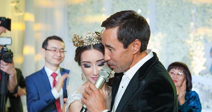 Бизнесмен Маратхан Токмади и Зере Шакерхан