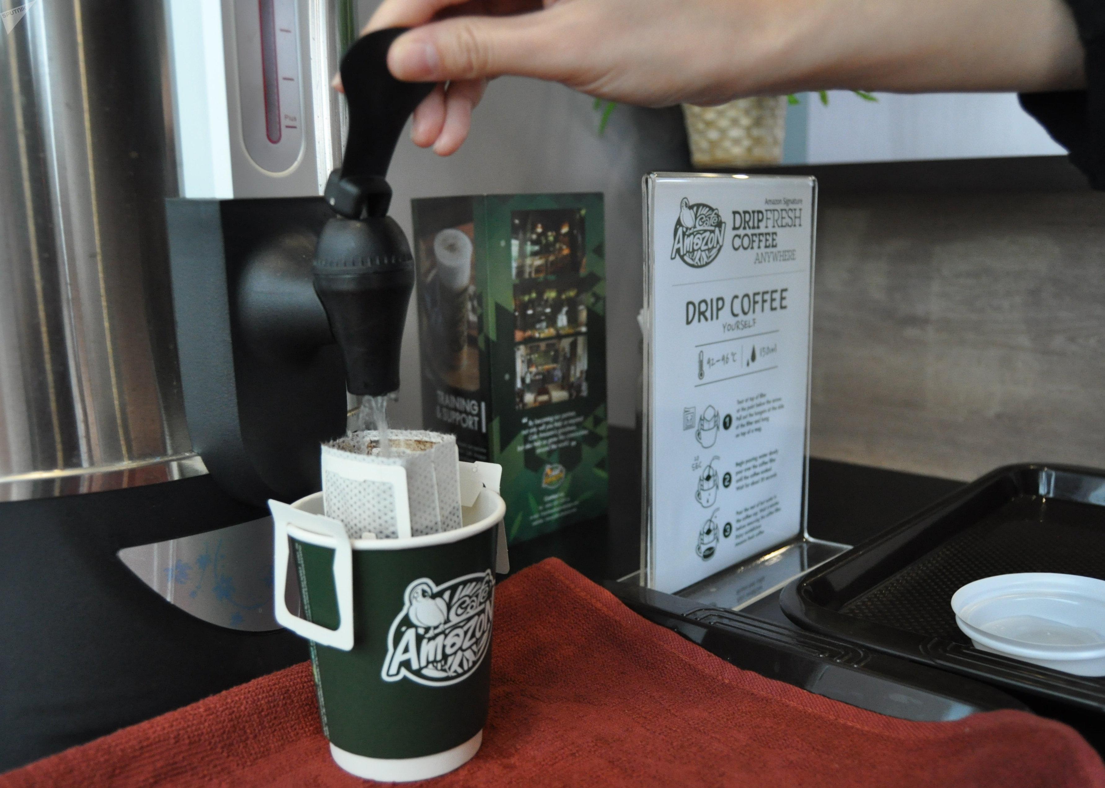 Кофе в павильоне Таиланда