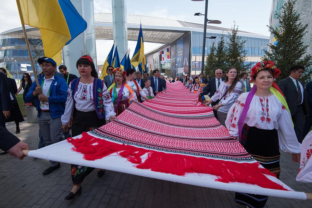 Презентация павильона Украины