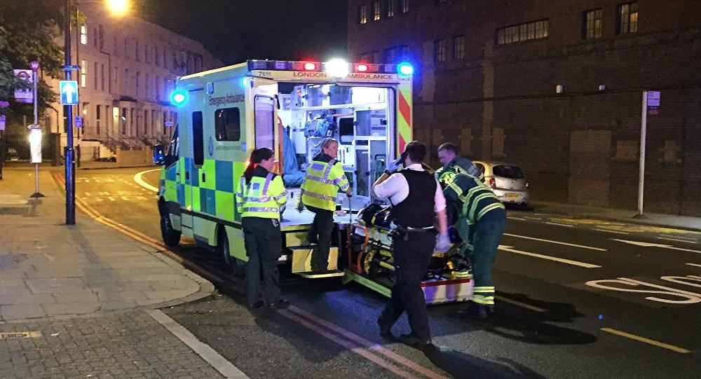 В результате наезда фургона на людей в Лондоне есть пострадавший