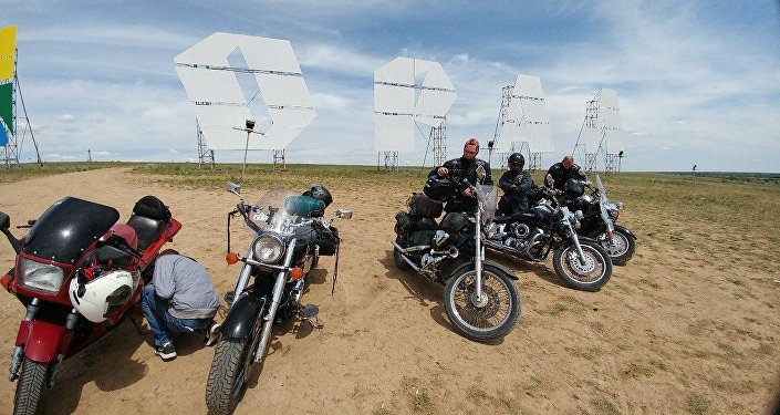 Участники мотопробега Менің Елім – Моя страна