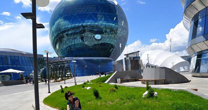 Национальный павильон Казахстана