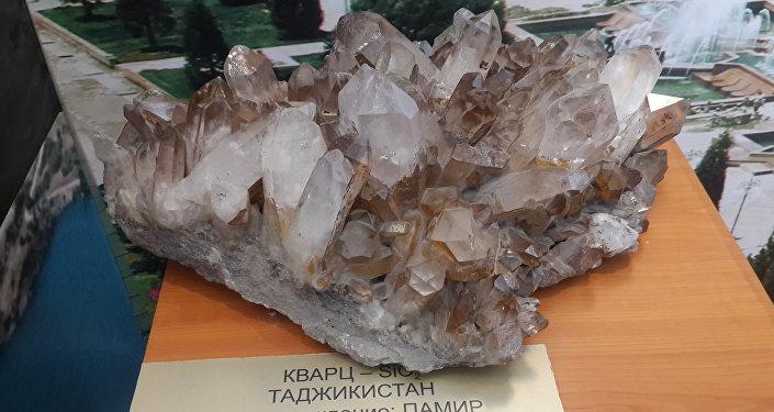 Экспонаты в павильоне Таджикистана