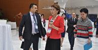 Дарига Назарбаева в кулуарах Медиафорума в Астане