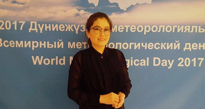инженер синоптик РГП Казгидромет Айнур Кайынбаева
