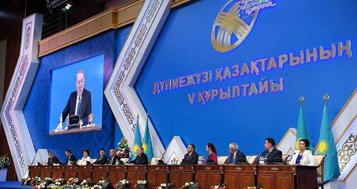 Қазақстан Президенті Нұрсұлтан Назарбаевтың қатысуымен дүниежүзі қазақтарының V құрылтайы өтті
