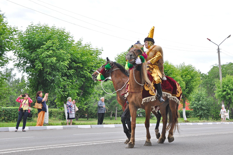 Символом Кымызфеста стала лошадь.