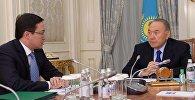 Глава нацбанка РК Данияр Акишев доложил президенту о ситуации на финансовом рынке