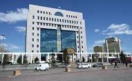 Здание Центральной избирательной комиссии Казахстанаагитация в Астане