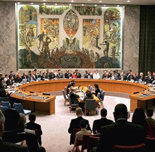 Архивное фото заседания Совета Безопасности ООН